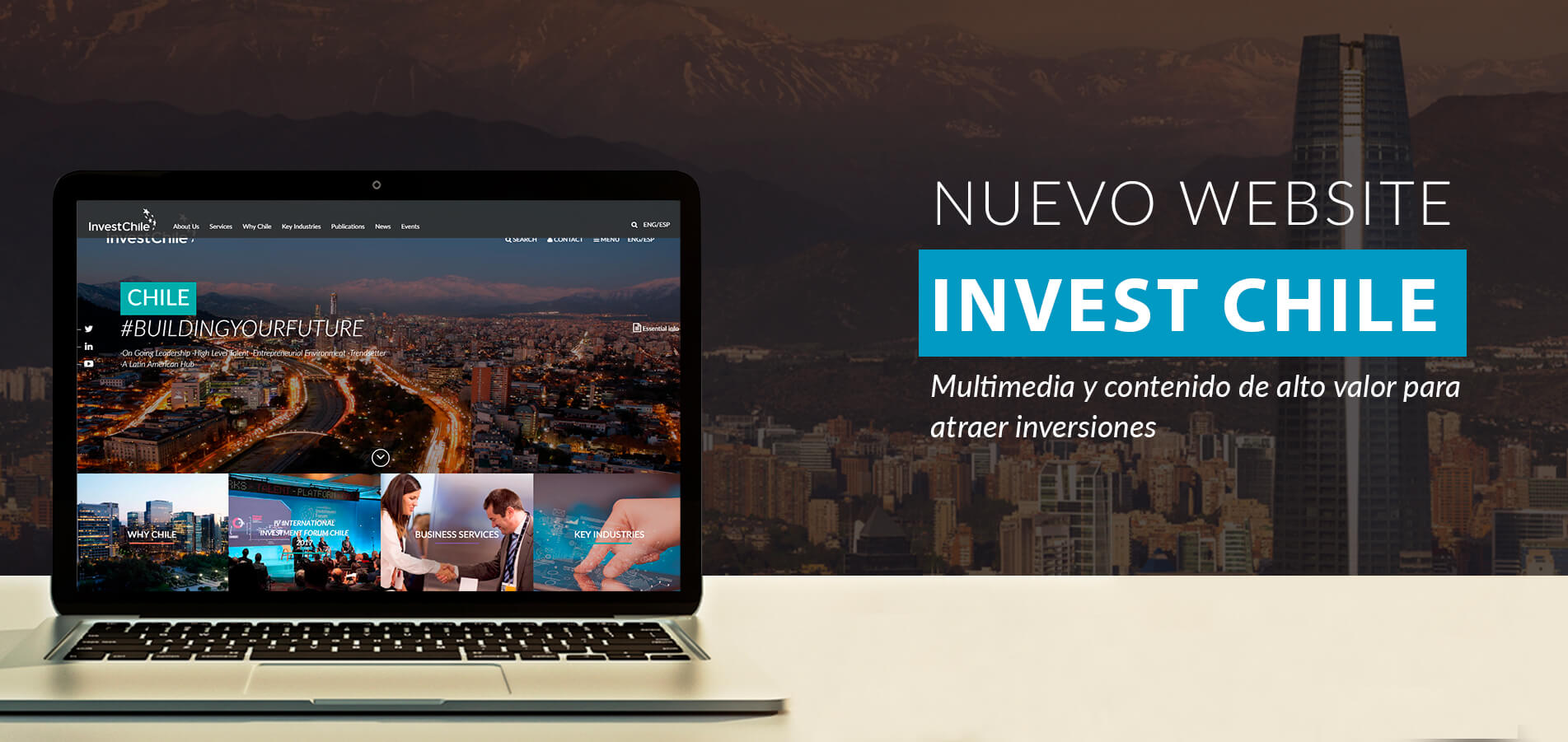 Web - Invest Chile